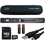 VuPoint Magic Wand Portable Scanner with Carrying Case & 4GB MicroSD Card