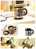 Cubee-Basethings Automatic Stainless Coffee Mixing Cup Blender Self Stirring Mug Best Gift