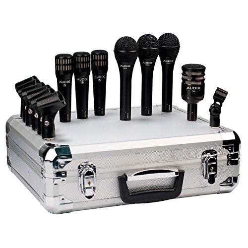 Audix Bp7Pro 7-Piece Band Pack Microphone Package