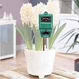 Neewer® 3-in-1 土壌水分/ PH値/日射量センサーメーター ガーデニング、農業、屋内/屋外植栽に最適