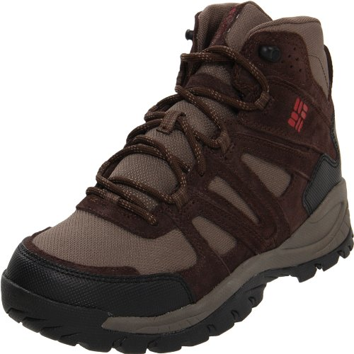 Columbia Men's Big Cedar Hiking Boot,Mud/Chilli,12 W US