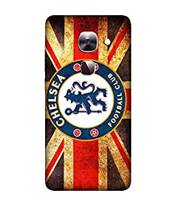chnno Chelsea 3D Printed Back cover for LeEco Le 2 -Multicolor