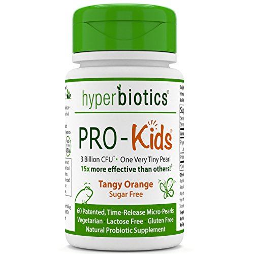 PRO-Kids-Childrens-Probiotics-60-Tiny-Sugar-Free-Once-Daily-Time-Release-Pearls-15x-More-Effective-than-Capsules-Recommended-with-Vitamins-for-Kids-Ages-3-and-Up-Very-Easy-to-Swallow