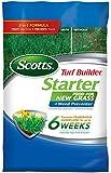 Scotts Turf Builder Lawn Food - Starter Food for New Grass Plus Weed Preventer, 5,000-sq ft (Starter Lawn Fertilizer Plus Crabgrass, Dandelion & Weed Preventer) (Not Sold in FL)