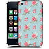 Head Case Designs English Flowers Nostalgic Rose Patterns Protective Snap-on Hard Back Case Cover for Apple iPhone 3G 3GS