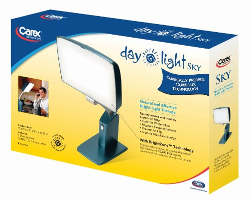 Carex Health Brands Day Light Sky 10 000 Lux Bright Light