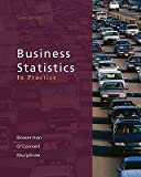 Business Statistics in Practice Kent State University Edition (0077572068) by Bruce L. Bowerman