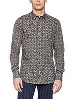 Dolce & Gabbana Camisa Hombre (Azul / Multicolor)