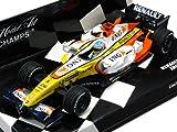 Amazon: 【MINICHAMPS/ミニチャンプス】1/43 ルノー F1チーム F.アロンソ ショーカー 2008