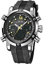 Comprar Alienwork DualTime Reloj Digital- Analógico Cronógrafo LCD Multi-función Poliuretano negro negro OS.WH-5205J-05
