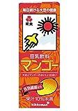 紀文 豆乳飲料 マンゴー 200ml×18本