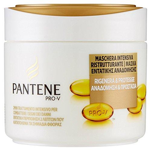 Pantene Maschera intensiva 2 min Rigenera & Protegge per capelli secchi e danneggiati 300 ml