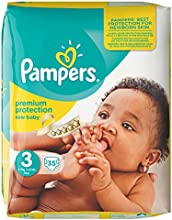 Pampers - New Baby - Pañales - Talla 3 (4 - 9 kg) - 4 x 35 pañales