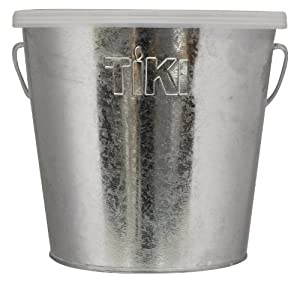 TIKI 1412110 17-Ounce Galvanized Citronella Wax Bucket