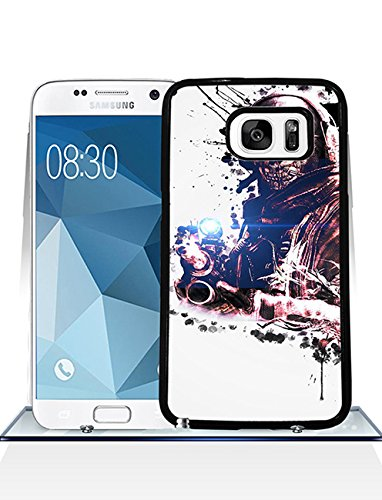 Call Of Duty Ghosts Samsung S7 CustodiaCase {Hard Plastic} Cover Customized Plastic Back for Samsung Galaxy S7