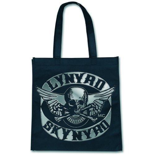 Lynyrd Skynyrd - Shopping Bag Skull Logo (in 36 x 38 cm)