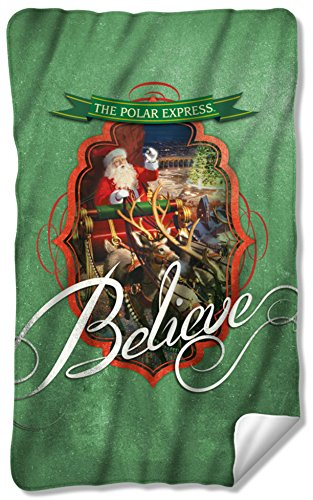 Polar Express - Santa Fleece Blanket 35 x 57in