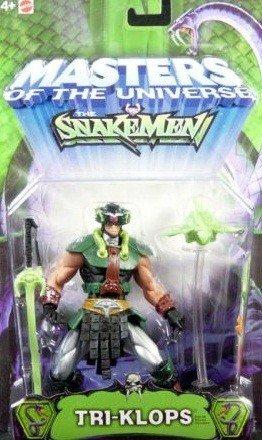 Buy Low Price Mattel MOTU Master of the Universe Snakeman Tri Klops Figure (B001PVF7ZQ)
