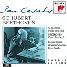 Schubert : Trio avec piano n� 1 - Beethoven : Trio avec piano n� 2