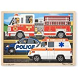 Melissa & Doug To The Rescue! Jigsaw (24-Piece)
