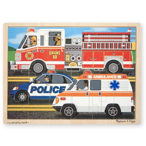 Melissa & Doug To The Rescue! Jigsaw (24-Piece)