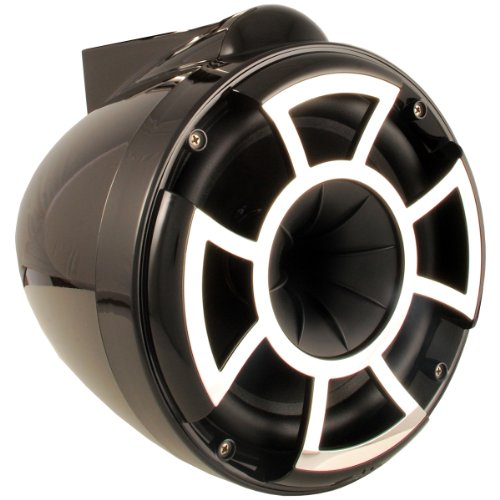 Wet Sounds Revolution Series 8 Inch Efg Hlcd Tower Speakers - Black W/ X Mount Kit