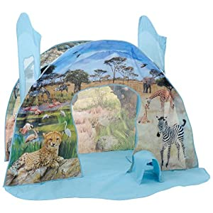 Animal Planet Safari Land Pop up Play Tent