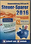 Steuer-Sparer 2016 (Glasklare Struktu...