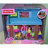 Fisher Price Loving Family Camping Cabin with Accessories