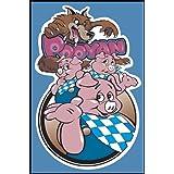 """Pooyan Arcade Game Poster Print 24"""" X 36"""""""