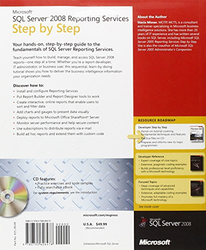Microsoft® SQL Server® 2008 Reporting Services Step by Step
