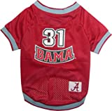 NCAA Dog Jersey, Medium, University of Alabama Crimson Tide at Amazon.com