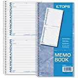 TOPS Memorandum Forms Book, 2-Part, Carbonless, 2 Memos per Page, 100 Sets per Book (TOP4150)