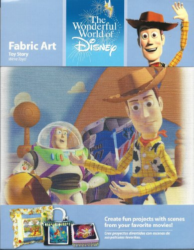 The Wonderful World of Disney Fabric Art Toy Story - 1