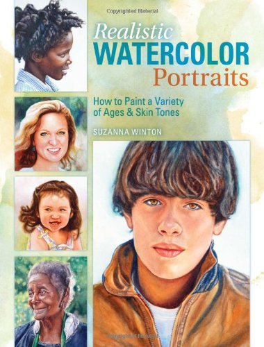 Realistic Watercolor Portraits Variety Ethnicities