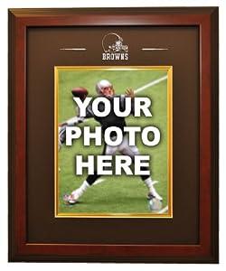 Cleveland Browns 8x10 Photo Ready Made Frame System, Mahogany - Framed NFL Photos,... by Sports Memorabilia