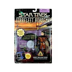 Star Trek: Starfleet Academy Cadet Riker Action Figure
