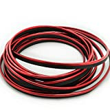 SJDZ 3D DIY Automobile Car motor Interior Exterior Decoration Moulding Trim Strip line Sticker (5M Plating Red)