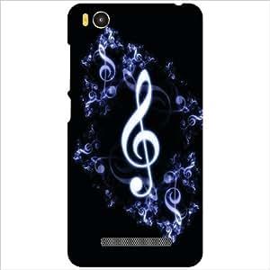 Xiaomi Mi4i MZB4300IN Back Cover - Music Sign Designer Cases