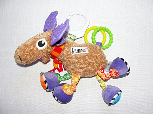 Lamaze Mortimer the Moose Baby Developmental Toy - 1