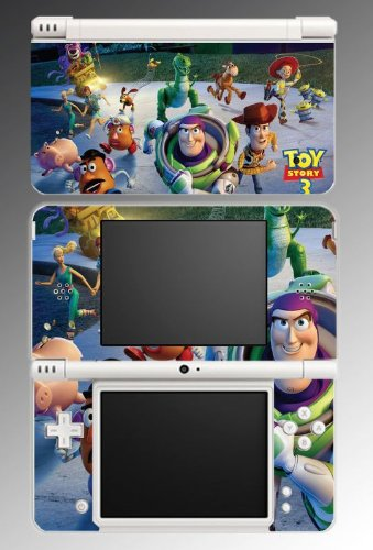 Toy Story Woody Video Game Vinyl Decal Skin Protector Cover #2 for Nintendo DSi XL