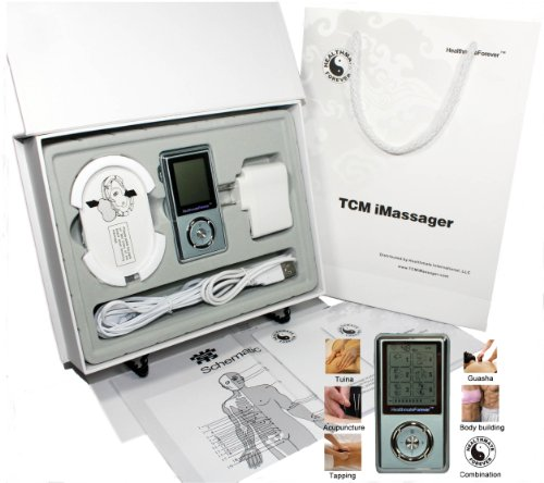 Cyber Monday Deals Week: FDA Approved, 2011 VERSION TCM iMassager kit, Portable Rechargeable Full Body TENS & EMS Pulse Muscle Stimulator does multi jobs: Pain Relief, Detox by Guasha, Body Building, Muscle Toning at the abs, biceps, triceps, thighs, Sport Training, Workout, Sport Injury Recovery or Rehab (Warranty Optional)
