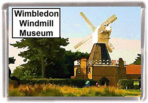 Kühlschrankmagnet Wimbledon Windmill Museum Geschenk Tourist Souvenir London