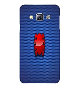 PrintDhaba Pattern D-1844 Back Case Cover for SAMSUNG GALAXY A3 (Multi-Coloured)