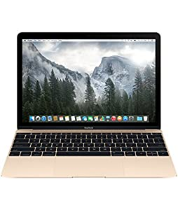 Apple MacBook Retina MK4M2D/A 30,4 cm (12 Zoll) Notebook (Intel Core M, 1,1GHz, 8GB RAM, 256GB SSD, Intel HD 5300, Mac OS) gold