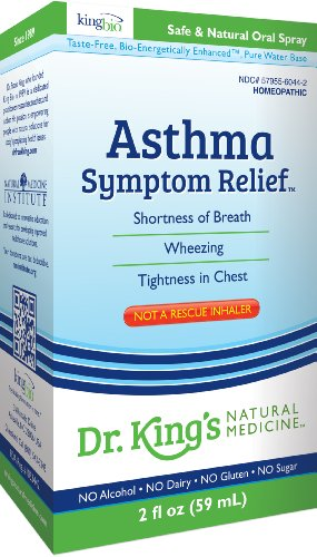 Dr. King'S Natural Medicine Asthma Symptom Relief, 2 Fluid Ounce