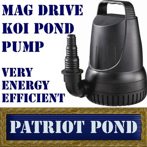 Patriot Mag Drive Md2100 2100 Gph Koi Pond Amp Waterfall