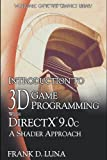 Introduction To 3D Game Programming With Directx 9.0C: A Shader Approach