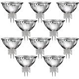 Lampes halogènes MR 16 (10 pcs) avec GU5, 3 base (blanc chaud, 12V AC, 35 Watts, lampe, lampes, paquet de ménage, 12V, 35W)