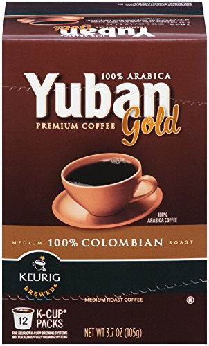 Yuban Colombian Coffee K-Cup Packs - 12 count (Keurig Coffee Yuban compare prices)